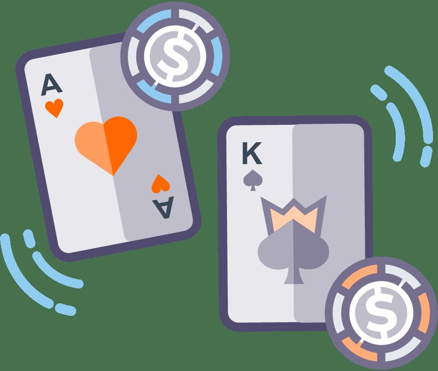 2021年9最佳Casino War在线娱乐场